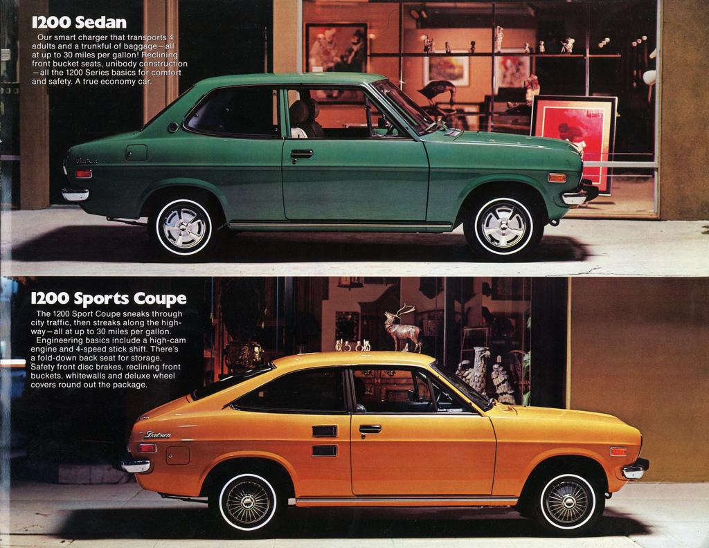 1971 Datsun 1200 Coupe - Hypermiling