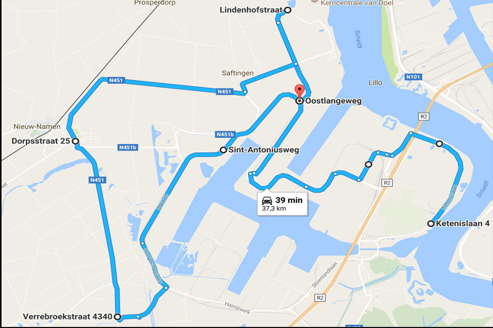 hypermiling-route
