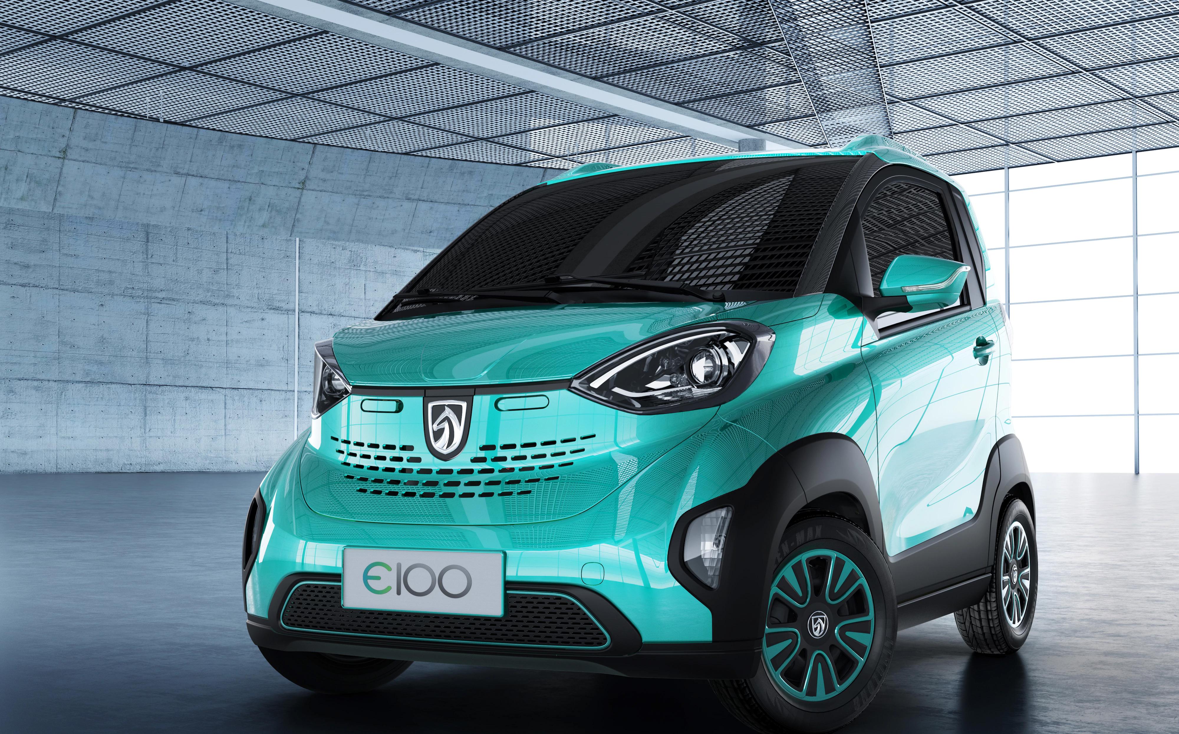 SAIC-GM-Wuling Launches Baojun E100, a $5,300 electric car ...