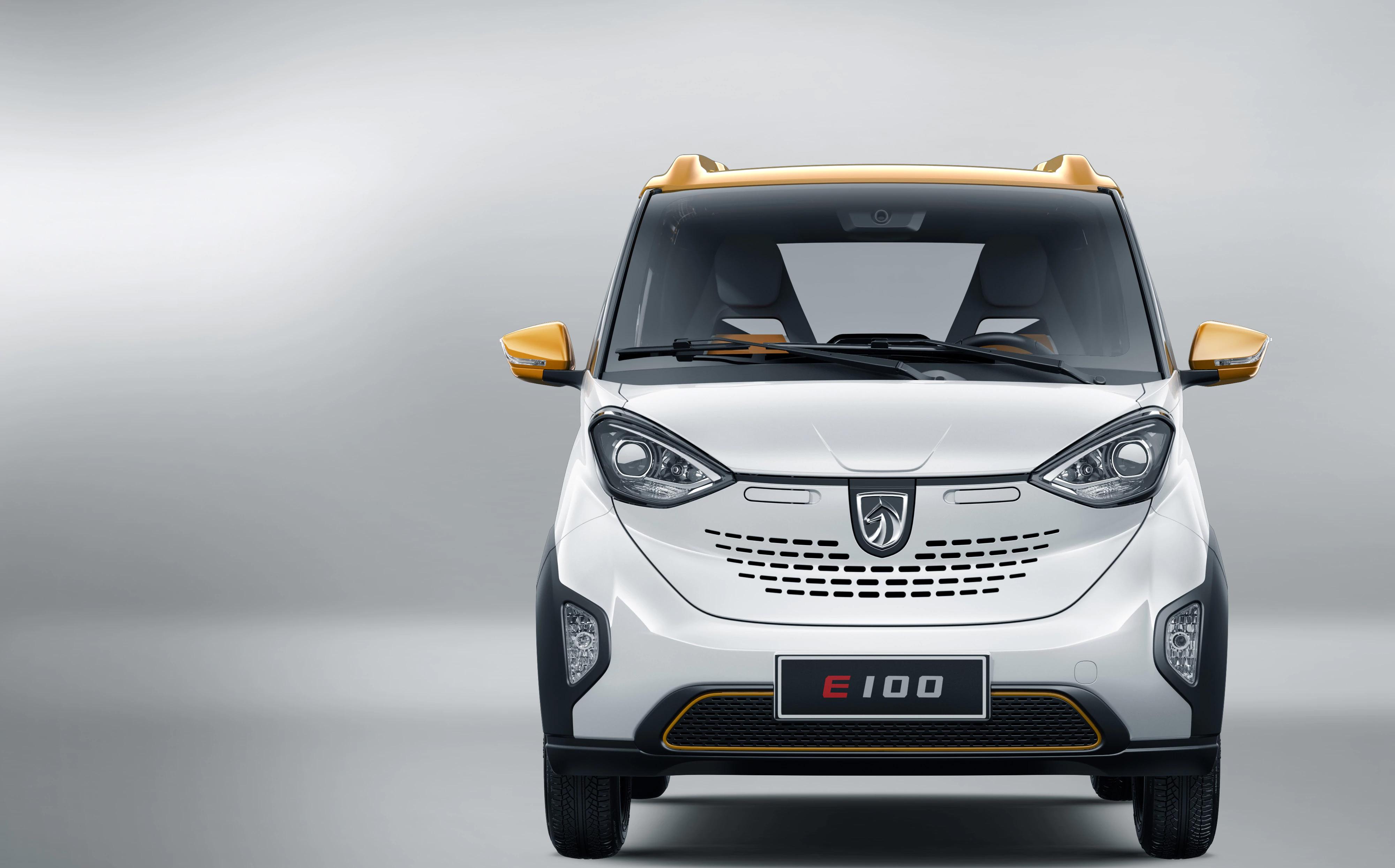 Scoop! Baojun E100 electric car spotted - Team-BHP